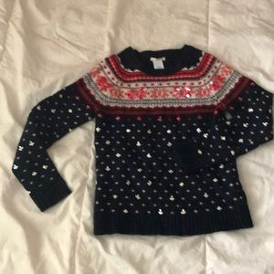 Crewcuts darling sweater size 10.